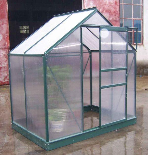 2.6 m2 Tek Kapılı Hobi Bahçe Serası