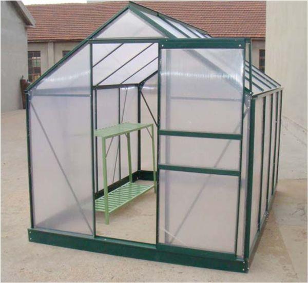 7.4 m2 Tek Kapılı Hobi Bahçe Serası