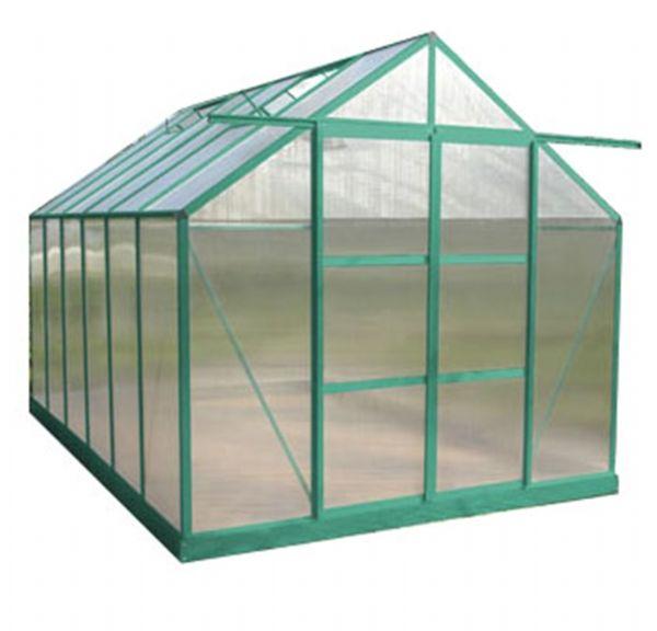 8.3 m2 Çift Kapılı Hobi Bahçe Serası