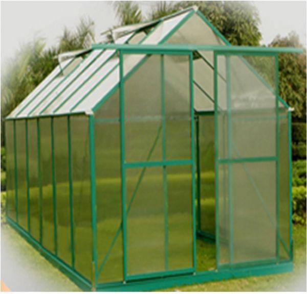 9.9 m2 Çift Kapılı Hobi Bahçe Serası