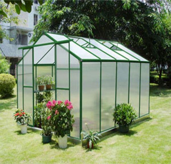 11.5 m2 Çift Kapılı Hobi Bahçe Serası
