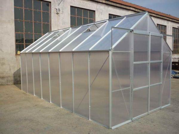 13 m2 Çift Kapılı Hobi Bahçe Serası