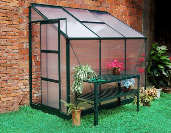 4.8 m2 Yarım Modül Hobi Bahçe Serası