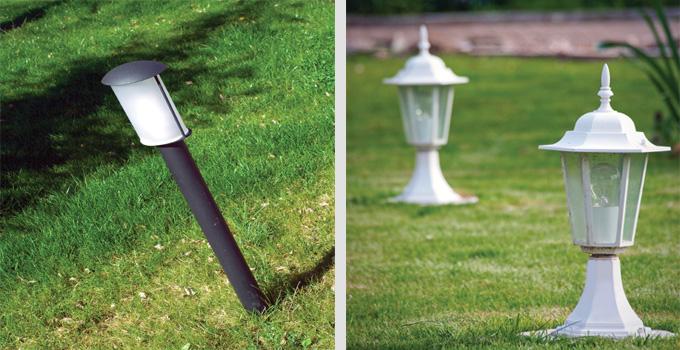 Romantik bir bahçe için parlak bir fikir