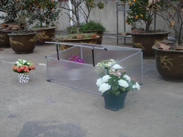 0.6 m2 Mini Hobi Bahçe Serası