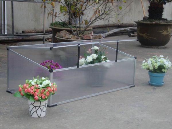 0.66 m2 Mini Hobi Bahçe Serası