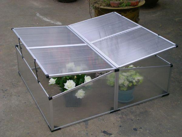 2.4 m2 Mini Çift Taraflı Hobi Bahçe Serası