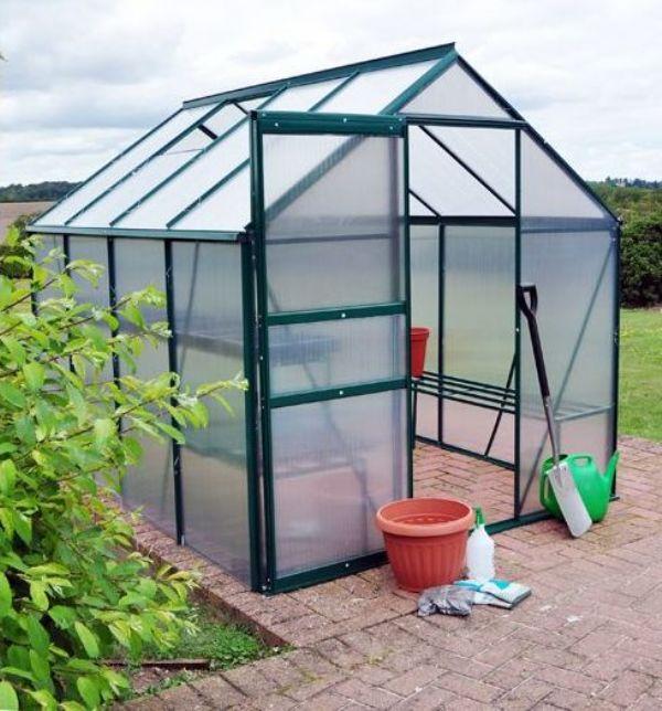 5 m2 Tek Kapılı Hobi Bahçe Serası