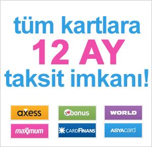 tüm Bankalara 12 Ay Taksit İmkanı!